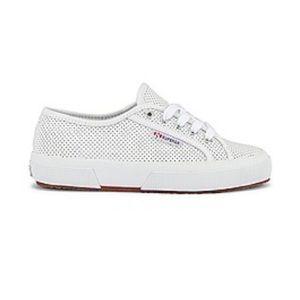 Superga white leather size 39